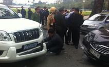 Một vụ trưởng lái xe gây tai nạn liên hoàn