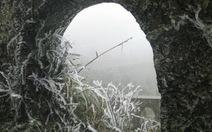 Giảm xuống nhiệt độ âm, Mẫu Sơn lại chìm trong băng tuyết