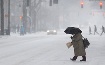 Ảnh bão tuyết hoành hành ở Mỹ