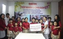 Học sinh trường Việt Úc chia sẻ áo ấm vùng cao