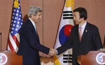 """Ngoại trưởng Mỹ kêu gọi Hàn - Nhật cùng """"tiến lên phía trước"""""""