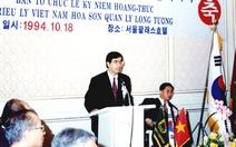Ông đại sứ nói giọng Seoul
