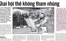 Độc đáo hội Minh thề