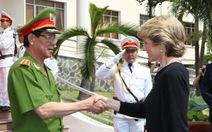Ngoại trưởng Úc thăm Tổng cục Cảnh sát phòng chống tội phạm