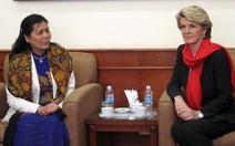 Nữ ngoại trưởng Úc và hai dự án vì phụ nữ Việt