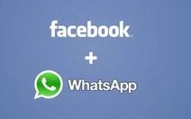 Facebook thâu tóm WhatsApp với 16 tỷ USD