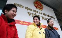 Vui buồn ngày về của ba cô dâu Việt