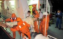 Ứng cứu tàu cá bị nạn cùng 32 thuyền viên