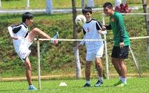 Ngày tập luyện của đội U-19 VN