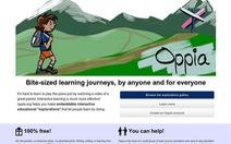 Ra mắt công cụ tạo bài học tương tác Oppia.org
