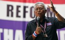 Chính quyền Thái Lan bác bỏ đàm phán với thủ lĩnh biểu tình
