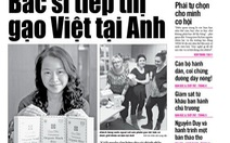 """Gặp """"bác sĩ tiếp thị gạo Việt tại Anh"""" trên Tuổi Trẻ ngày 28-2"""
