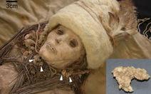 Phát hiện mẩu pho-mát trong xác ướp 3.800 tuổi