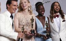 Oscar 2014: 12 years a slave đoạt giải phim hay nhất