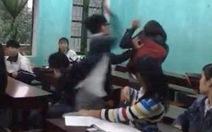 Cảnh cáo nam sinh đánh nữ sinh trong lớp trên youtube