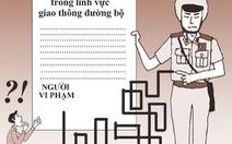 Không dễ phản đối biên bản của cảnh sát giao thông