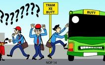 Tôi đi xe buýt