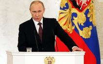 Crimea chính thức thành một phần lãnh thổ của Nga