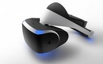 Sony trình làng thiết bị chơi game thực tại ảo