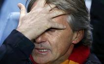 Mancini thừa nhận Galatasaray chơi quá tệ!