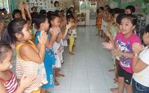 Cho phép dạy ngoại ngữ cho trẻ mầm non