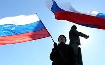 Nga ký hiệp ước tiếp nhận Crimea