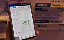 Ra mắt máy điều hòa thông minh tích hợp Wi-Fi