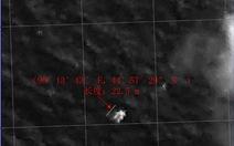 Máy bay Trung Quốc phát hiện vật màu trắng trôi trên biển