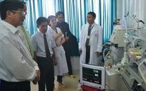 Tiếp nhận máy thở dành cho trẻ sơ sinh