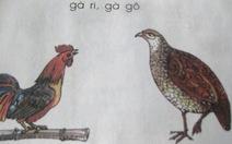 Cần thống nhất từ ngữ trong sách giáo khoa