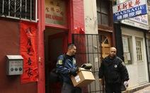 Bắt trùm băng đảng Hồng Môn ở phố Tàu