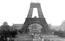 """""""Trôi ngược thời gian"""" cùng tháp Eiffel"""