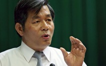 Bộ trưởng Bộ KH-ĐT Bùi Quang Vinh: nên dừng tổ chức Asiad