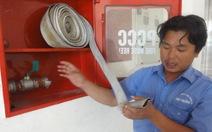 Thiếu thiết bị chữa cháy ở chung cư