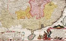 Truyền thông Trung Quốc lờ bản đồ Thủ tướng Merkel tặng