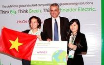 Hai nữ sinh viên VN dự thi toàn cầu về năng lượng