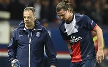 PSG mất Ibrahimovic 4 tuần