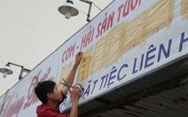 Dẹp biển hiệu tiếng Trung sai quy định