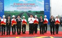 Thông xe gần 30km đường cao tốc Nội Bài - Lào Cai