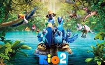 Tạo hóa tuyệt mỹ trong phim hoạt hình Rio 2