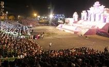 Pháo hoa rực rỡ đêm Huế khai mạc Festival 2014
