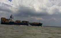 Tàu 30.000 tấn lưu thông trên luồng Soài Rạp