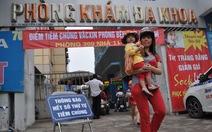 Hà Nội mở điểm tiêm ngừa sởi cho trẻ đến 6 tuổi
