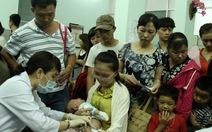 Đà Nẵng tổ chức chiến dịch tiêm vắc xin sởi cho trẻ