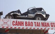"""Biển cảnh báo tai nạn giao thông """"độc nhất vô nhị"""""""