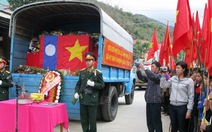 Truy điệu, an táng 31 hài cốt liệt sĩ quân tình nguyện