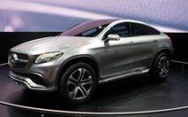 Lộ diện concept Mercedes Coupe Crossover đẹp như mơ