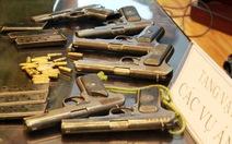 Bắt ba đối tượng đột nhập trại giam trộm 6 khẩu K54