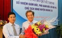 Ông Võ Công Chánh làm chủ tịch UBND huyện Hoàng Sa
