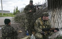 Hơn 30 tay súng ly khai thiệt mạng ở Sloviansk